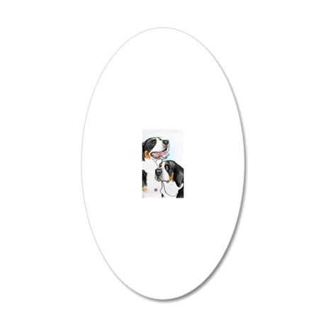 dolly-fro-8x10 20x12 Oval Wall Decal