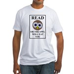 Owl Fitted T-Shirt