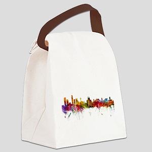 Liverpool England Skyline Canvas Lunch Bag