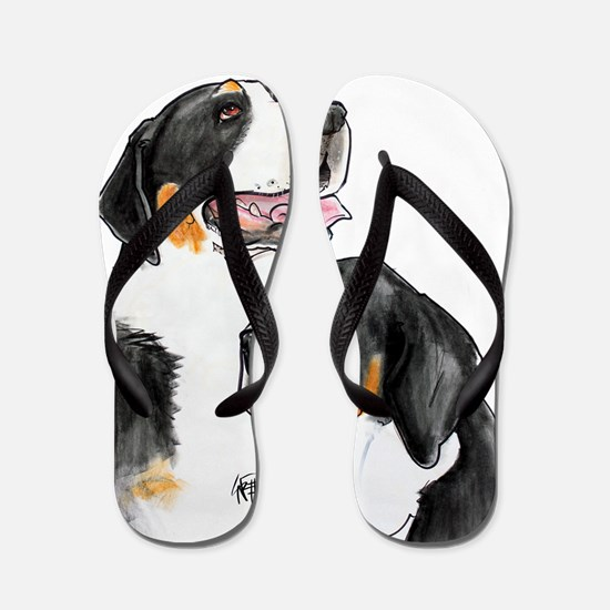 dolly-fro-cutout Flip Flops