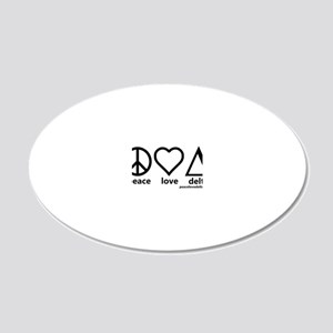 pld_tighter_black_final 20x12 Oval Wall Decal