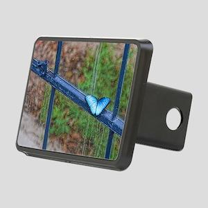 Blue Morpho 56x46-100 Rectangular Hitch Cover