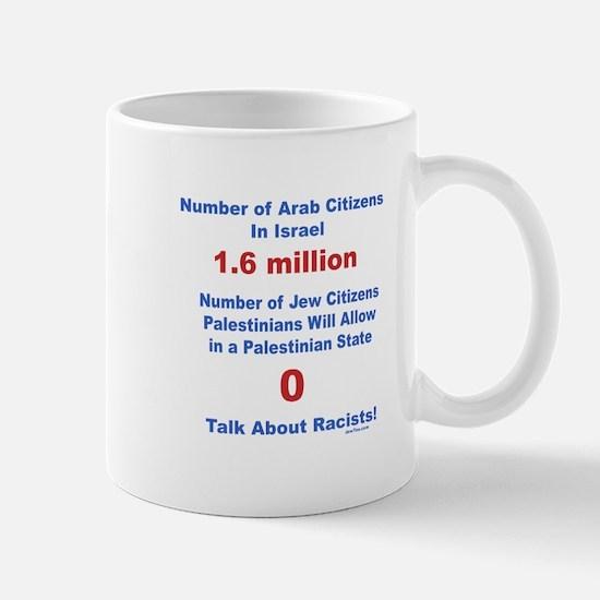 Palestinian Racism Mug
