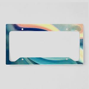 Smooth Wave License Plate Holder