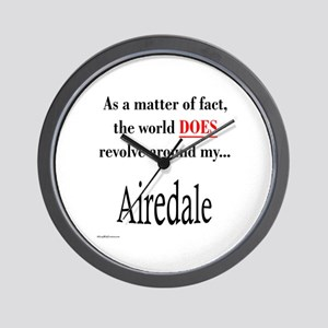 Airedale World Wall Clock