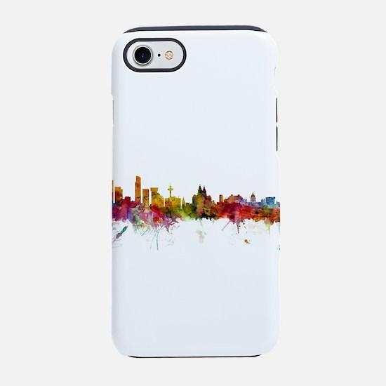 Liverpool England Skyline iPhone 7 Tough Case