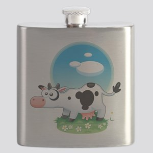 Carly-The-Cow Flask