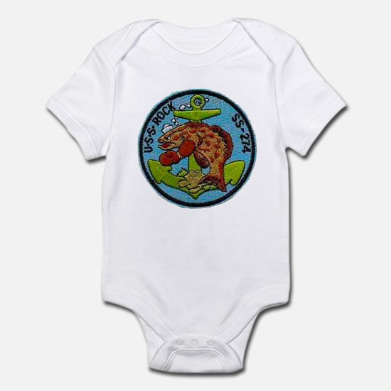 USS ROCK Infant Bodysuit