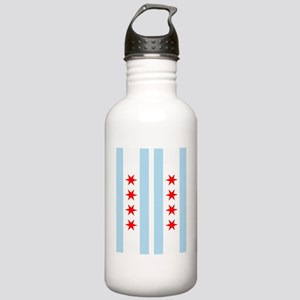 Chicago Flag Flip Flop Stainless Water Bottle 1.0L