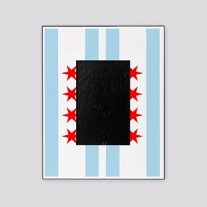 Chicago Flag Flip Flops Picture Frame