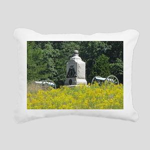 The Wheatfield Rectangular Canvas Pillow