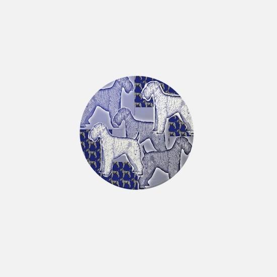 kerry blue2 Mini Button