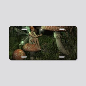 fairy skin Aluminum License Plate