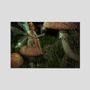 fairy skin Rectangle Magnet