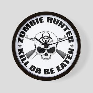 Zombie Hunter 2 Wall Clock
