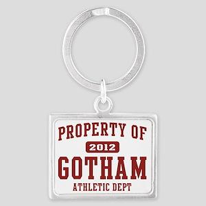 gotham 2012 athletic Landscape Keychain