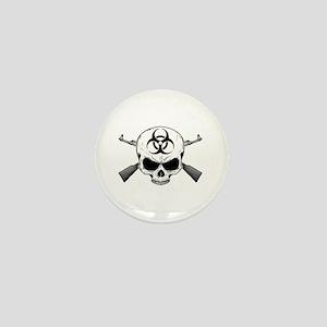 Zombie Hunter 2 white Mini Button
