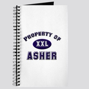 Property of asher Journal