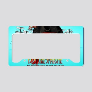 Talk Like A Pirate-Yardsign License Plate Holder