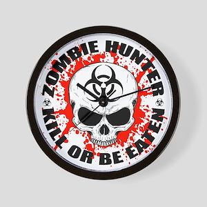 Zombie Hunter 3 Wall Clock