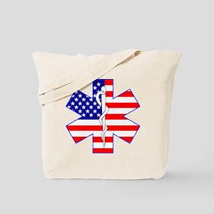 Flag Star Tote Bag
