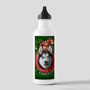 DeckHallsHuskies Stainless Water Bottle 1.0L