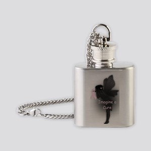 imagine a cure Flask Necklace