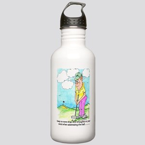 Golf 300 Thoughts Stainless Water Bottle 1.0L
