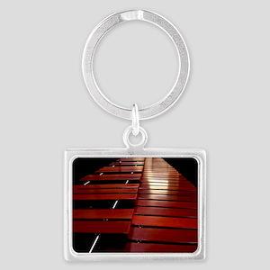 Marimba Landscape Keychain