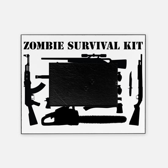 Zombie Survival Kit Picture Frame