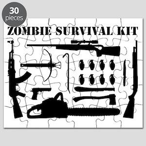 Zombie Survival Kit Puzzle