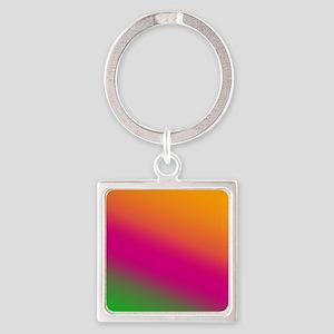 FF-OPG-Diagonal Square Keychain