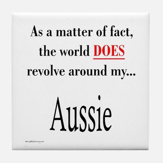Aussie World Tile Coaster