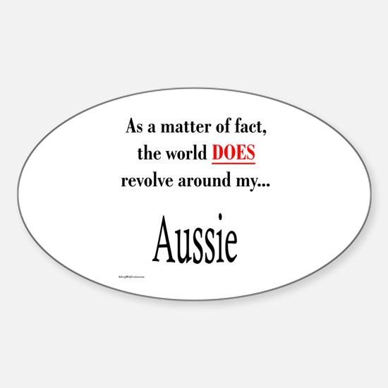 Aussie World Oval Decal