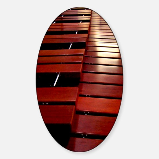 Marimba Sticker (Oval)