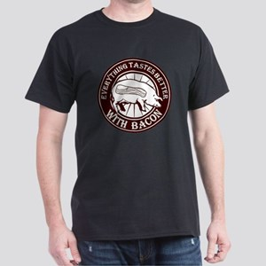 Pig Black Leg Black Burst- Brown Dark T-Shirt