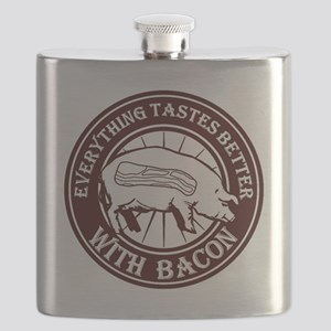 Pig Black Leg Black Burst- Brown Flask