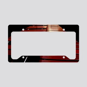 Marimba1 License Plate Holder