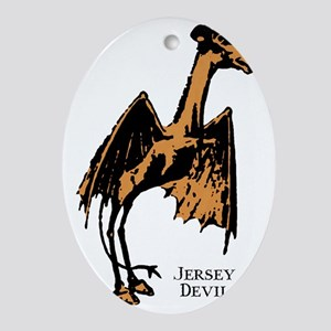 jerseydevil Oval Ornament