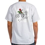Custom Ash Grey T-Shirt