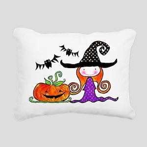 brujita3 Rectangular Canvas Pillow