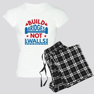 Build Bridges Not Walls Women's Light Pajamas