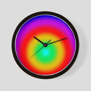 FF-Rainbow-R-S-WC2 Wall Clock