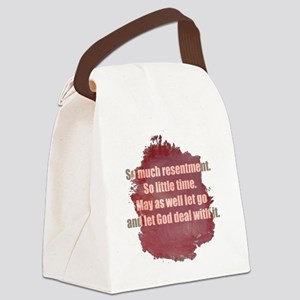 resentment1 Canvas Lunch Bag