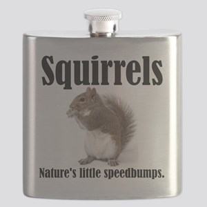 Squirrel-Bumps Flask