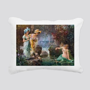 1 A COVER -ZATZKA-AWater Rectangular Canvas Pillow