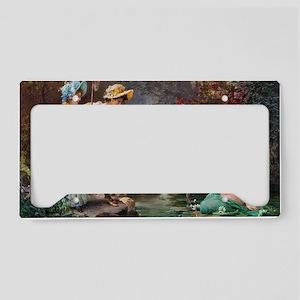 1 A COVER -ZATZKA-AWaterIdyll License Plate Holder