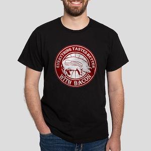 Pig Black Leg Black Burst- Dark Red Dark T-Shirt