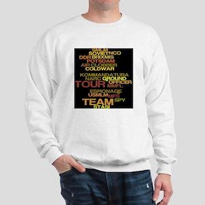 cp text art 7a Sweatshirt