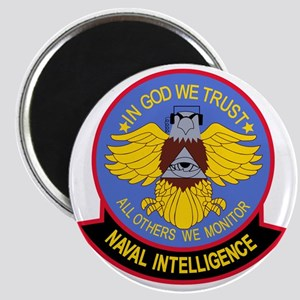 US NAVAL INTELLIGENCE Military Patch IN COD Magnet